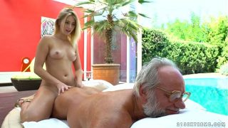 Aria Logan and her much older friend – Grandpas Fuck Teens
